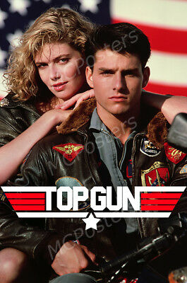 Posters USA - Top Gun Tom Cruise Movie Poster Glossy Finish - MCP691