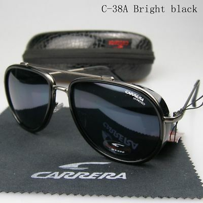2019 Unisex Carrera Glasses Fashion Eyewear Aviator Men & Women Sunglasses C-38