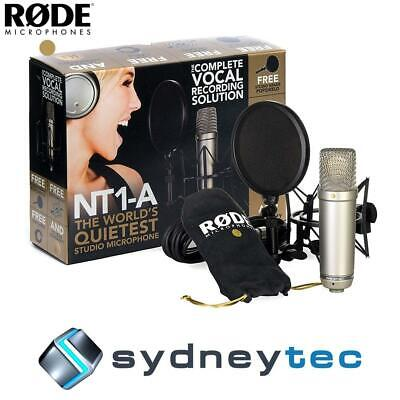 New Rode NT1-A Studio Condenser Microphone Recording Package (NT1A)