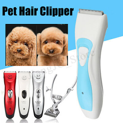 Pet Electric Dog Pet Fur Clipper Kit Blade Set Cat Animal Hair Grooming