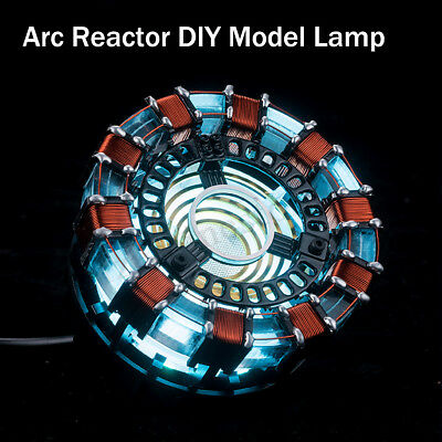 Arc Reactor DIY Model Kit LED Chest Light USB Powered Movie Props Friend