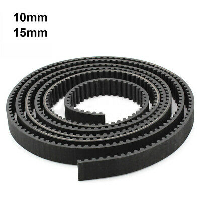 HTD 3M Rubber Open Timing Belt 10mm 15mm Wide 3mm Pitch For CNC Drives 1 Meter