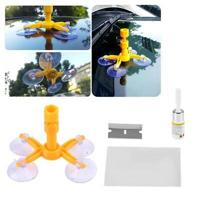 Car Window Glass Crack Chip Resin Windscreen Windshield Fast Repair Tool Kit Set