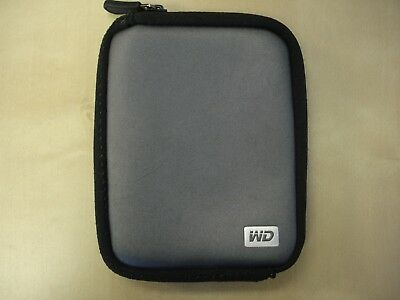 Western Digital Hard Drive Soft Carrying Case Gray with USB 3.0 Cable