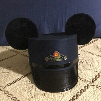 Disney Conductor Mickey Hat L/XL