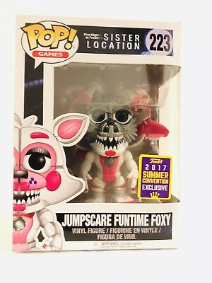 Funko Pop SDCC Exclusive 2017 Five Nights at Freddy's Jumpscare Funtime Foxy 223
