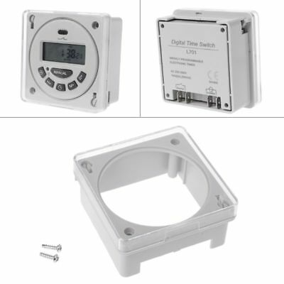 Panel Mounting Transparent Case Waterproof Cover Enclosure for CN101 TM618 L701