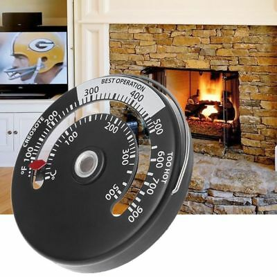Magnetic Stove Flue Pipe Thermometer Multi Fuel Woodstove Woodburner Stove Pipe