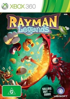 Rayman Legends (Xbox 360) ✓NEW ✓SEALED ✓OZI ✓XBOX ONE Console Compatible Game