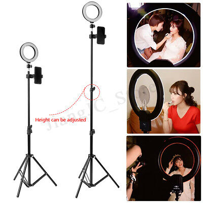 3 Modes USB LED Ring Lamp + 1.6m Tripod Portable Stand Kit For Photography Video