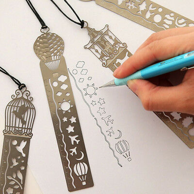 Bookmark Ruler Ultra Thin Metal Fairy Children Creative Student Stationary-Gifts
