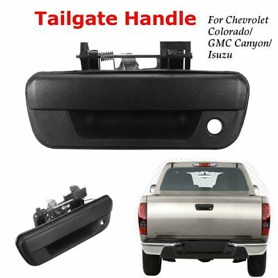 Smooth Black Tailgate Handle - Fits 2004-2008 GMC Canyon & Chevrolet Colorado S#