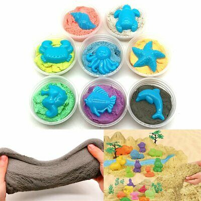 Dynamic Sand Magic Clay Squeeze Playdough Fun Gift Educational Toy SH