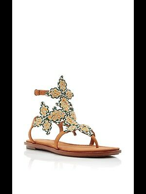 d86d8f33437c TORY BURCH GLADIATOR Sandal Francesca High heel gold hardware pump ...