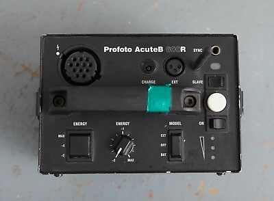profoto actue b600R battery pack + battery