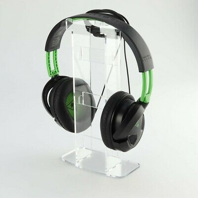 Solo Gaming Headset or Headphones Acrylic Display Stand - Gamer DJ Music