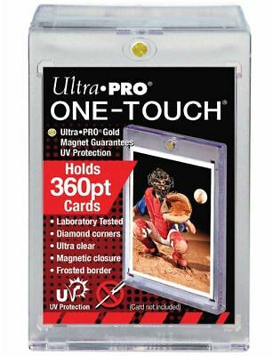 (1) Ultra pro One Touch Magnético Tarjetero 360pt Super Fat con / UV