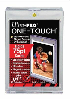 (5-Pack) Ultra pro One Touch 75pt Grueso Magnético Carta Soportes con / UV