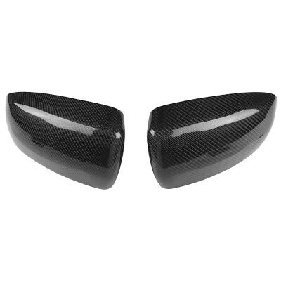 Carbon Fiber Rearview Side Wing Mirror Cover Caps for X5 E70 X6 E71 07-14