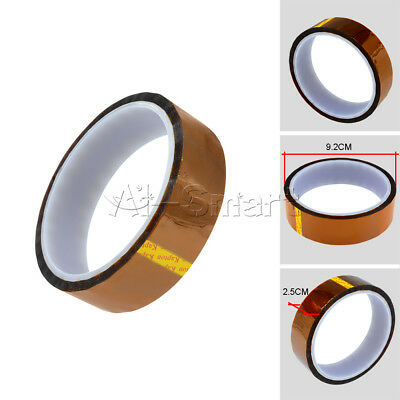 Kapton Tape Sticky High Temperature Heat Resistant Polyimide 25mm x 30M