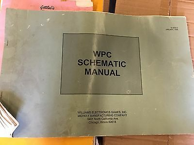 WPC Schematic  Pinball Machine Manual