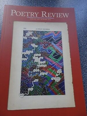 Poetry Review. Volume 102:3. Autumn 2012. A human document Guest editor  C Boley