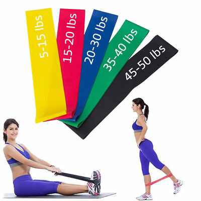 Exercise Resistance Band Elastic Workout Bands Fitness Body Equipment For Yoga