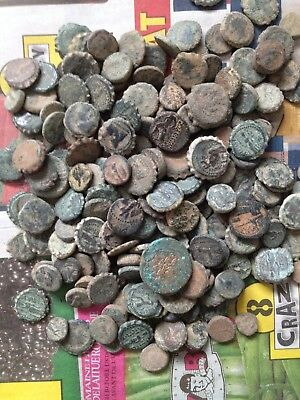 Uncleaned High Quality Greek Desert Coins From Israel , Each Bid is per coin !