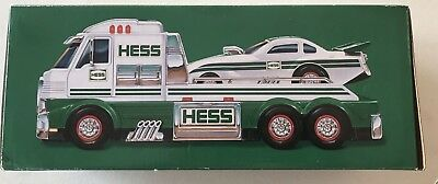 2016 Hess Truck and Dragster Batteries Included Working Lights Sounds NIB