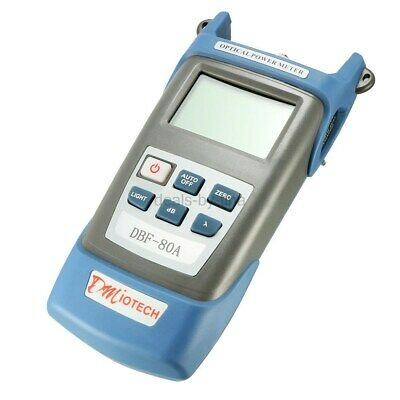 uxcell DC 9V/1000mA -70~+3 dBm Portable Optical Multi-Meter SC/FC/ST Interfaces