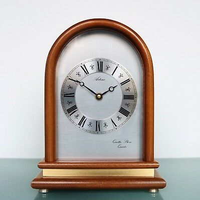 HERMLE Vintage Mantel Clock VERY RARE!! QUATTRO PHONE 4 Chime/Melodies Ave Maria