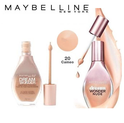 Maybelline Dream Wonder Nude Fluid Touch Foundation 20 Cameo