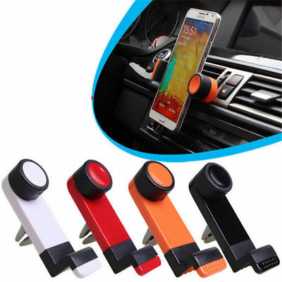 Universal Mobile Phone 360 Rotating In Car Air Vent Mount Holder Cradle Mount