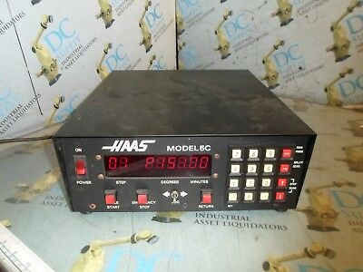 Haas Model 5C 120 V 3 A 1 Ph Automatic Digital Indexing Head Controller