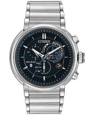 *BRAND NEW* Citizen Men's Eco-Drive Black Dial Stainless Steel Watch  BZ1000-54E