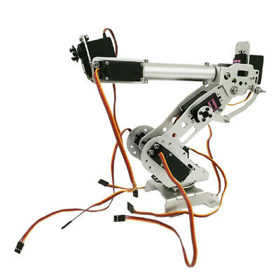 7DOF Mechanical Robot Arm Clamp Claw Kit Manipulator for Robotics