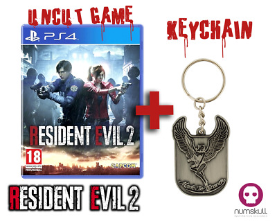 RESIDENT EVIL 2 HD REMAKE | Playstation 4| NEU& OVP | + MADE IN HEAVEN KEYCHAIN