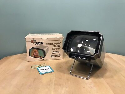 VINTAGE FOCAL K MART MAGNUM SLIDE VIEWER with Box