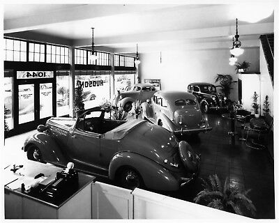1936 Hudson California Dealership ORIGINAL Photo Negative nad5859