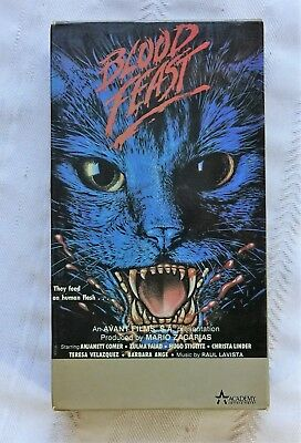 1986 Blood Feast VHS Home Movie   VGC+(untested) Looks Clean!  Rare!