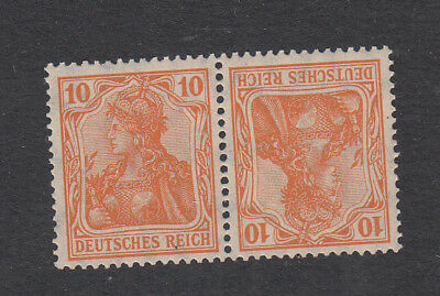 Germany Third Reich  10pf & 10pf Pair of Stamps Unmounted Mint