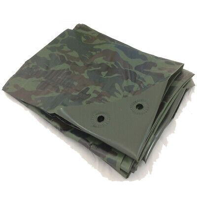 1.8M X 2.4M GREEN CAMOUFLAGE CAMO XT TARPAULIN  heavy duty Tarp Ground sheet