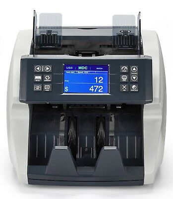 Bill Counter Fast Use-Friendly Money Counter Detects UV, MG, MT, IR 7 Currencies