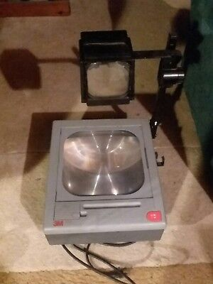 3m 9050 Overhead Projector W/ two lamps support local schools