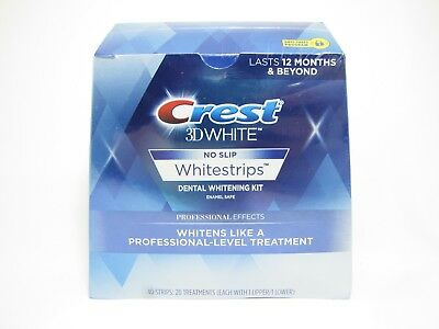 Crest 3D White Whitestrips Professional Effects - 20 Treatments