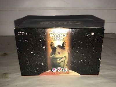 Star Wars Episode 1 Joking Jar Jar Binks - Tatooine Restaurant Toy