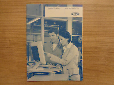 Ford Service History Book