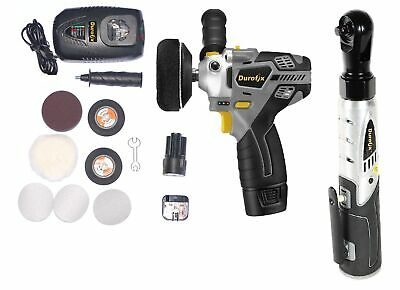 "ACDELCO ARS1210 3"" (75 mm) Mini Polisher Sander Head light kit and Impact Driver"