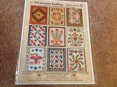 Nine small quilts by Lori smith. quilt pattern