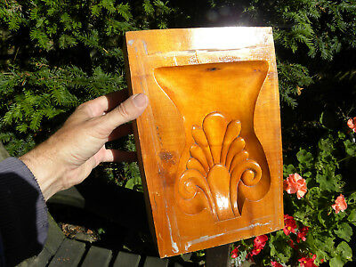 Huge Solid Limewood Hand Carved Decorative Floral Mould For Plaster Ceiling/wall